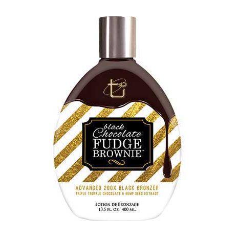 Tan Inc.Brown Sugar BLACK CHOCOLATE FUDGE BROWNIE - 13.5 oz.