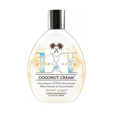 DOUBLE DARK COCONUT CREAM 400 X by Brown Sugar -13.5 oz.