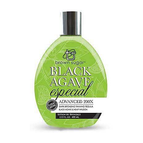 Brown Sugar Tan Inc. BLACK AGAVE 200 X especial Bronzer -13.5 oz.