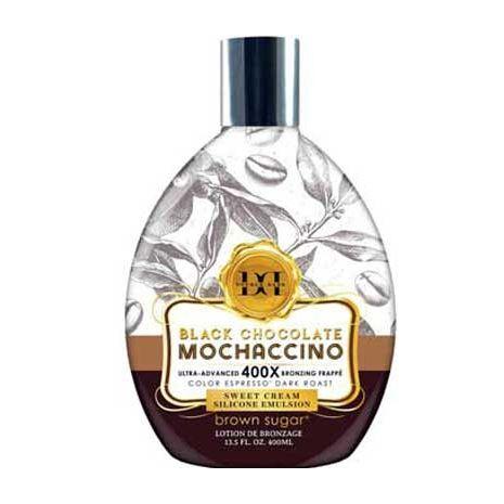 Tan Inc. Brown Sugar Black Chocolate Mochaccino 400X - 13.5 oz.
