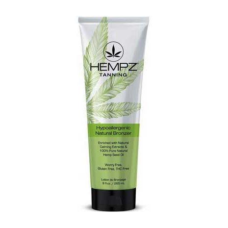 Hempz HYPOALLERGENIC Natural Bronzer Tanning Lotion - 9 oz.