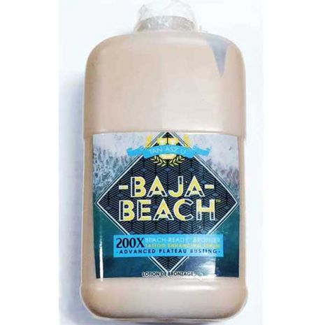 Tan Asz U Baja Beach Advanced 200X Bronzer - 64.oz.