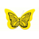 Yellow Butterfly Tanning Sticker 1000 ct.
